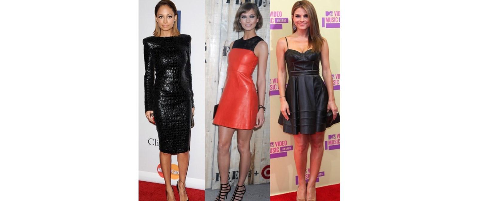 Trending now  Το δερμάτινο φόρεμα 4bb4867c1bf