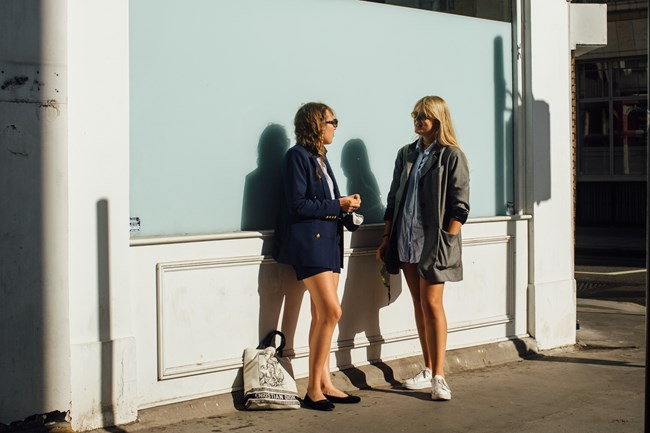 London Fashion Week: 25 φωτογραφίες από το street style του Λονδίνου