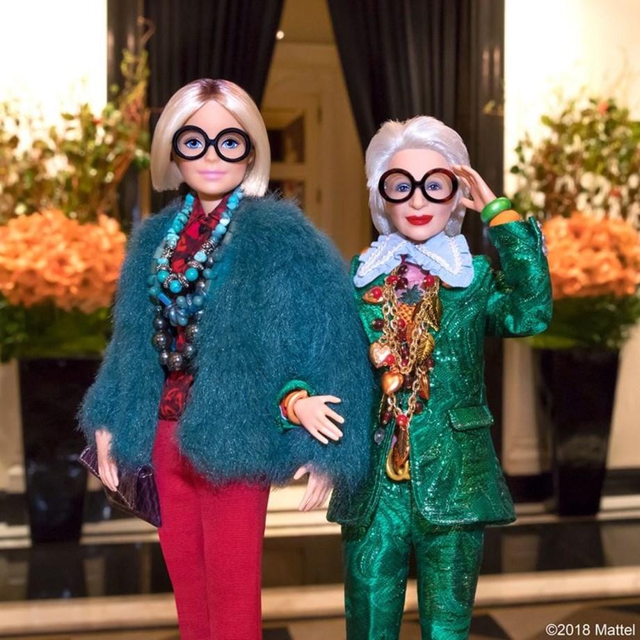 Η Iris Apfel είναι και επισήμως η...γηραιότερη Barbie στον κόσμο