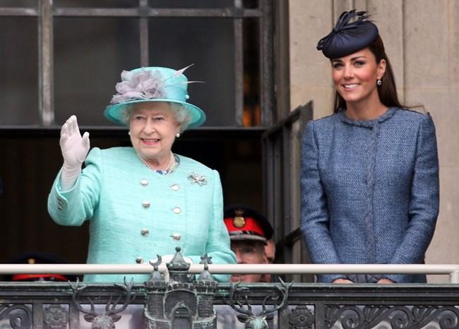 βασίλισσα Ελισάβετ, Kate Middleton