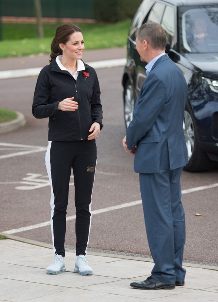 H Kate Middleton φόρεσε το πιο chic sport outfit που είδαμε τελευταία