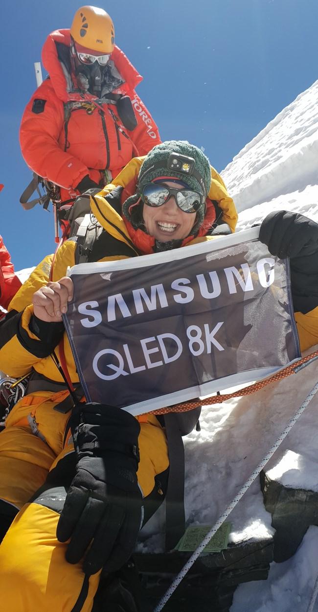 O οργανισμός 'A Woman Can Be' ανέβασε την Samsung Electronics Hellas στο Έβερεστ