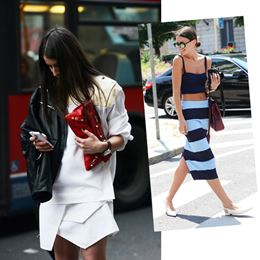 The Editors Blog | Fashion shows: Street style is king!