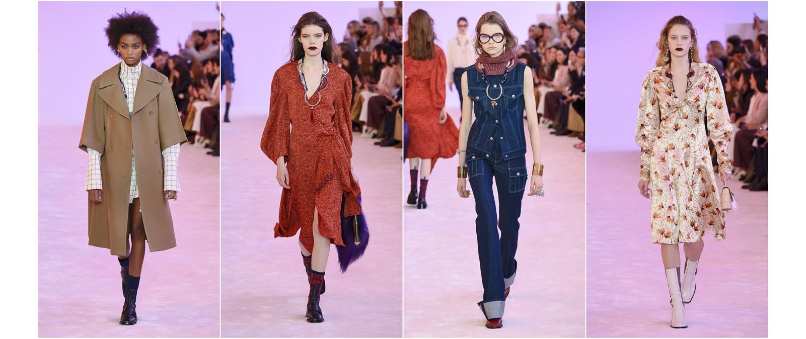 75568145100 Η πιο μποέμ συλλογή της Εβδομάδας Μόδας στο Παρίσι ήταν του οίκου Chloé
