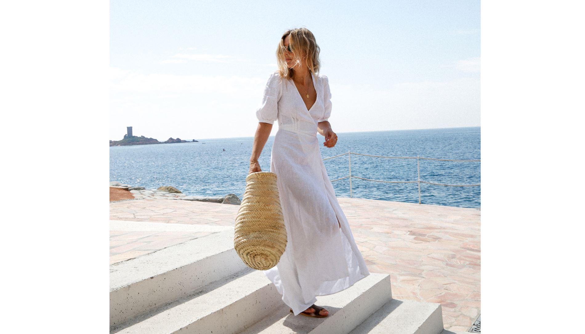 1886d2dd6c8a Λευκό φόρεμα  6 συνδυασμοί με το must-have του καλοκαιριού