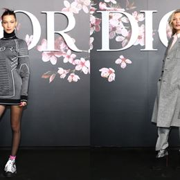 Dior pre-fall 2019 | Kate Moss και Bella Hadid front row με αντρικά ρούχα
