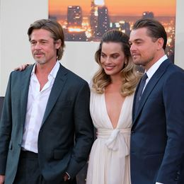 Brad Pitt, Leonardo DiCaprio & Margot Robbie στην πρεμιέρα του Once Upon a Time ... in Hollywood