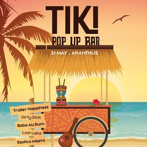#Tidbits *: The Clumsies Tiki Pop Up Bar