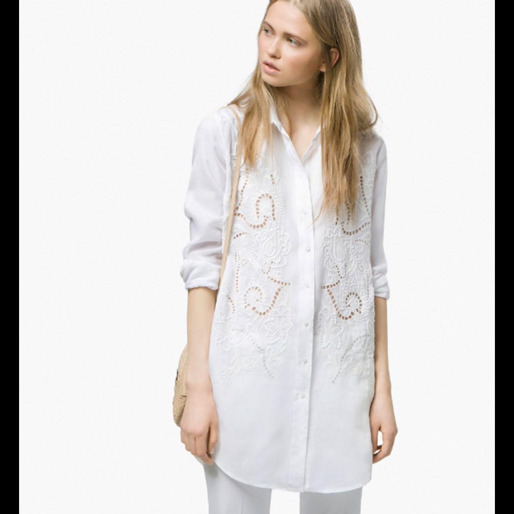 Λευκό πουκάμισο  Το μόνο ρούχο που θα χρειαστείς φέτος για την παραλία c8e1f7928c8