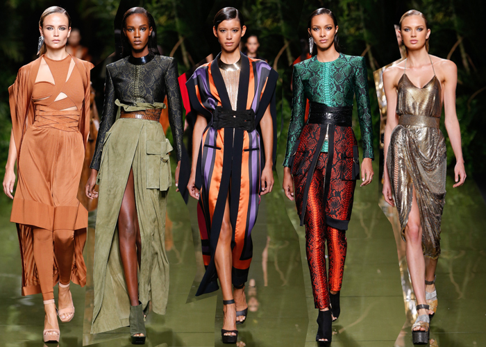 Paris Fashion Week SS' 17: Balmain